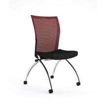 Mayline Valore High Back Chair Armless