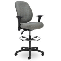 Seating Inc Contour II Stools Casters and 4 Leg 400 Chair