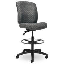 Seating Inc EDU2 Upholstered Stools Casters and 4 Leg Stool