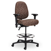 Seating Inc Pearl II Stools Casters 300