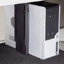 Cotytech CPU Holder Under Desk, Adjustable and Metal