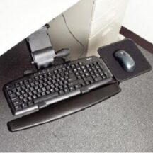 Cotytech Keyboard Tray Fully Adjustable Low Profile KS-807
