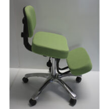 Jobri BetterPosture Jazzy Kneeling Chair Lime Green BP1446LI