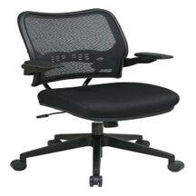 Office Star 13-37N1P3 Deluxe Dark AirGrid Back Chair
