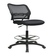 Office Star 13-37N20D Deluxe Dark AirGrid Back Drafting Chair