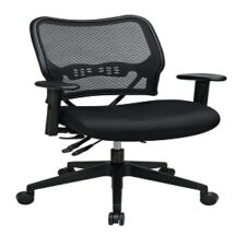 Office Star 13-37N9WA Deluxe Dark AirGrid Back Chair