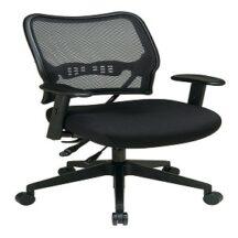 Office Star 13-7N9WA Deluxe Dark AirGrid Back Chair