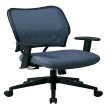 Office Star 13-V77N1WA Deluxe Blue Mist VeraFlex Back Chair