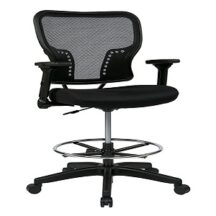 Office Star 213-37N2F3D Deluxe AirGrid Back Chair
