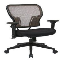 Office Star 213-38N1F3 Latte AirGrid Back Chair