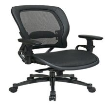 Office Star 2787 Breathable Mesh Seat and Back Managers Chair
