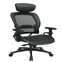 Office Star 27876 Breathable Mesh Seat and Back Managers Chair