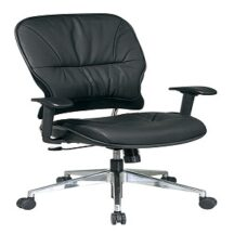 Office Star 32-44P918P Leather Managers Chair