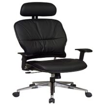 Office Star 32-44P918PHL Leather Managers Chair