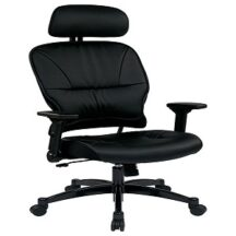 Office Star 32-E3371F3HL Eco Leather Seat and Back Managers Chair