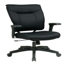Office Star 37-33N1A7U Professional Black Mesh Executive Chair