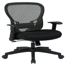 Office Star 529-3R2N1F2 Deluxe R2 SpaceGrid Back Chair