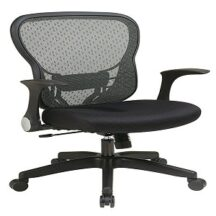 Office Star 529-3R2N1F5 Deluxe R2 SpaceGrid Back Chair