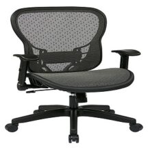 Office Star 529-R22N1F2 Deluxe R2 SpaceGrid Seat and Back Chair