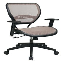 Office Star 55-88N15 Latte Air Grid Seat and Back Deluxe Task Chair