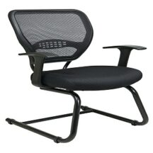 Office Star 5505 Professional Dark Air Grid Back Visitors Chair