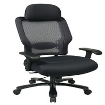 Office Star 63-37A773HM Dark Air Grid Back and Mesh Seat Big and Tall Chair