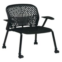Office Star 801-338C Series - SpaceFlex Seat and Back Visitors Chair