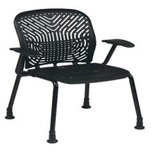 Office Star 801-776AG Series - SpaceFlex Seat and Back Visitors Chair