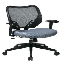 Office Star 81-V77N18P Dark Air Grid Back and Blue Mist VeraFlex Seat Manager's Chair