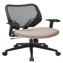 Office Star 81-V87N18P Dark Air Grid Back and Latte VeraFlex Seat Manager's Chair